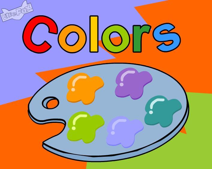 英文儿歌colours的FLASH课件动画