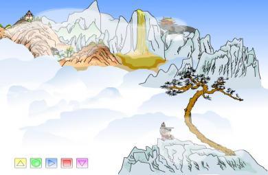 幼儿园古诗凉州词FLASH课件动画