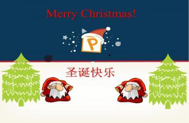 幼儿园圣诞节英语PPT课件