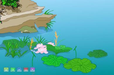 幼儿园古诗小池FLASH课件动画