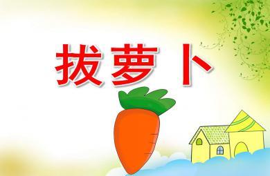 幼儿园拔萝卜PPT课件教案