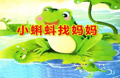 小班歌唱活动小蝌蚪找妈妈PPT课件教案