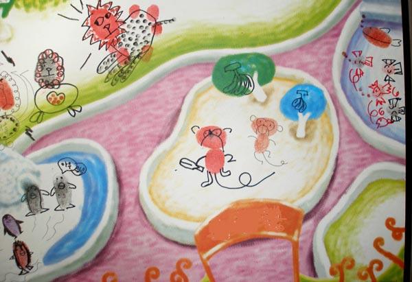 幼儿园大班手印画教案:去动物园