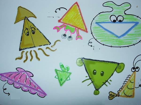 幼儿园大班数学教案:神奇的三角形—幼儿园大班教案