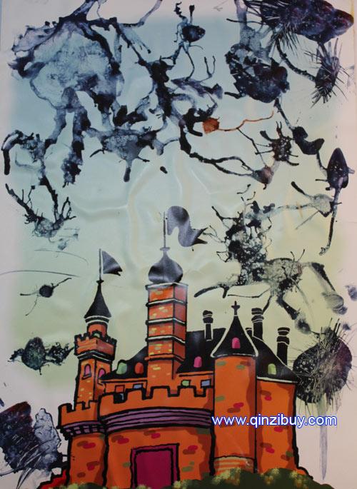 幼儿园大班美术教案城堡教案反思