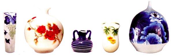 大班中國畫美術教案:花瓶—幼兒園大班美術教案