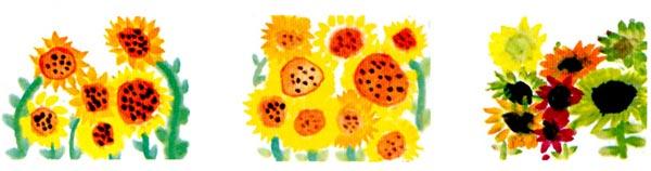 大班中国画教案:向日葵—幼儿园大班教案