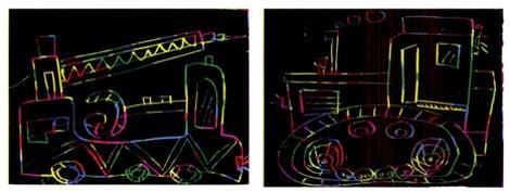 幼儿园大班画画教案:多功能汽车