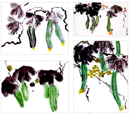 幼儿园大班画画教案设计:丝瓜—幼儿园大班教案