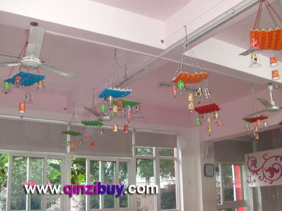 幼儿园吊饰:风铃6—幼儿园环境布置图片
