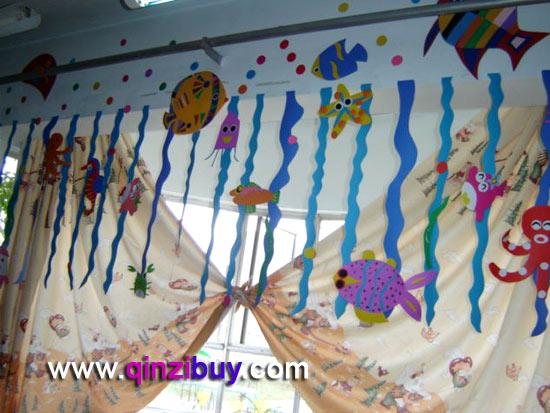 幼儿园吊饰:海底世界8—幼儿园环境布置图片