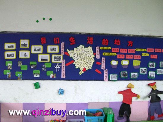 图片 幼儿园主题墙面布置 香香的蔬菜 主题墙布置