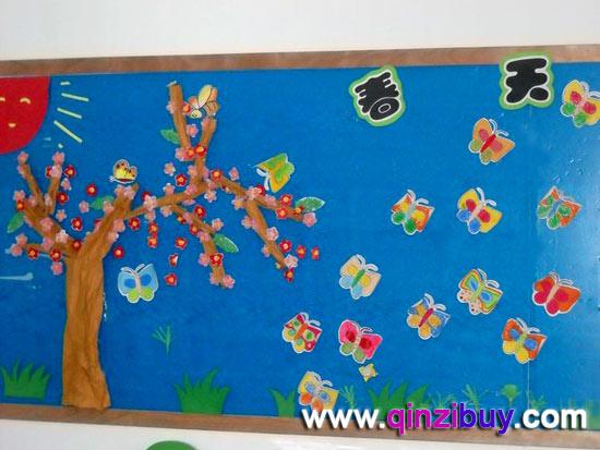 幼儿园春天主题墙:春天来了4