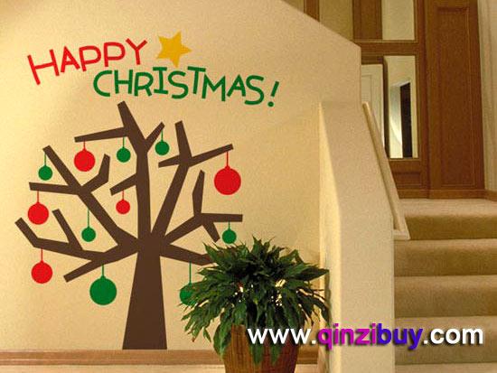 幼儿园圣诞节环境布置5—幼儿园环境布置图片