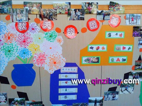 幼儿园秋天环境布置:秋天的图画2—幼儿园环境布置