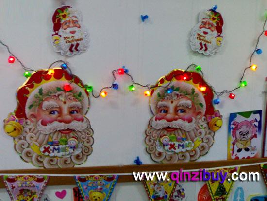 圣诞节环境布置:主题墙面布置—幼儿园环境布置图片