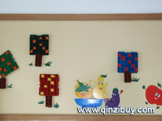 幼儿园主题墙布置图片:水果8—幼儿园环境布置图片