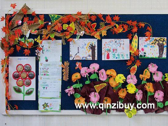 幼儿园环境布置:美丽的秋天10—幼儿园环境布置图片