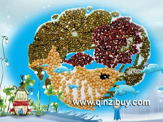 秋天环境布置:丰收的豆子—幼儿园环境布置图片