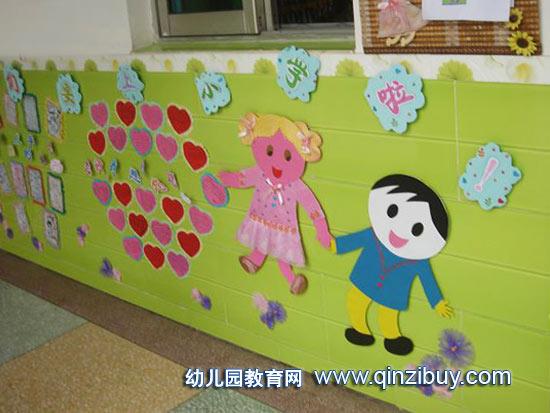 幼儿园楼梯布置图片 幼儿园上小学主题墙 幼儿园上下楼梯布置