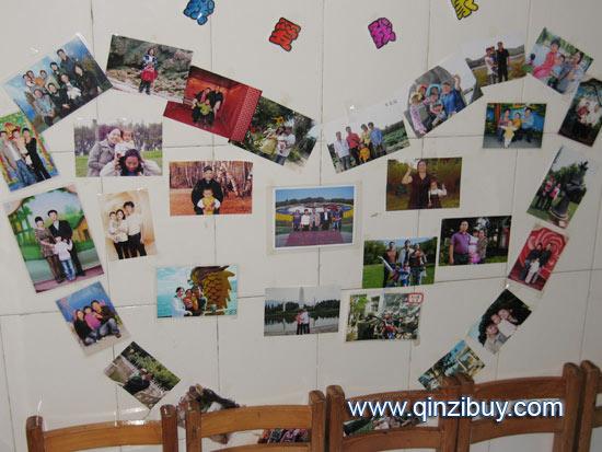 幼儿园照片墙:我爱我家
