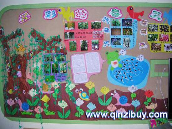 幼儿园数学区角布置图片