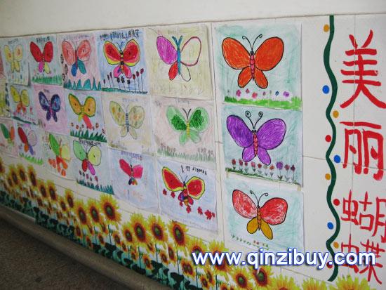 幼儿园春天环境布置:美丽蝴蝶-春天环境 美丽蝴蝶