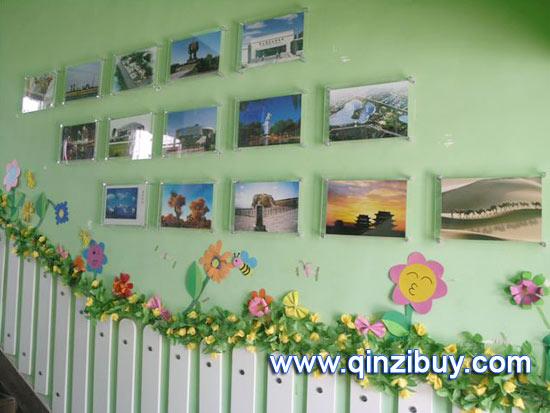 幼儿园环境布置:楼梯布置
