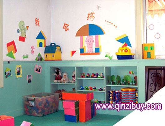 幼儿园区角环境布置:建筑乐园8