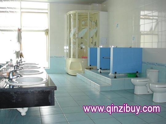 幼儿园环境布置:盥洗室—幼儿园环境布置图片