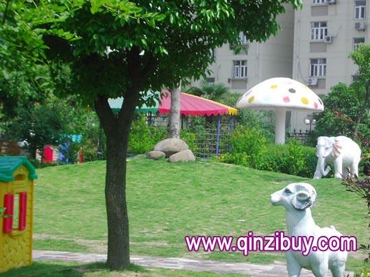 幼儿园环境布置:校园环境2—幼儿园环境布置图片