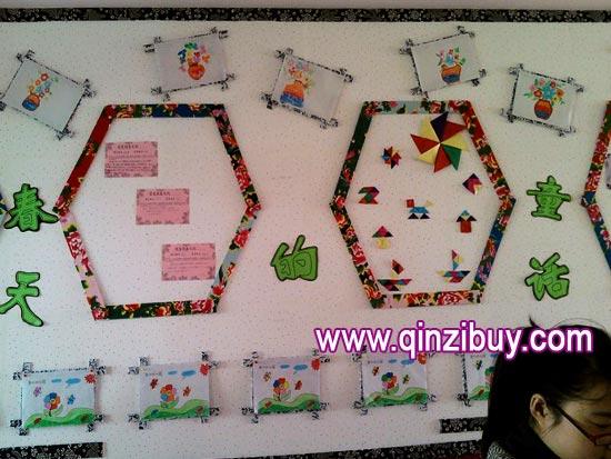 幼儿园主题墙布置:春天的童话