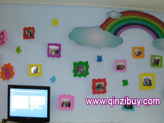 幼儿园主题墙布置:照片墙6—幼儿园环境布置图片