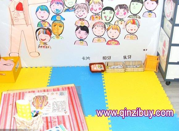幼儿园墙面布置:认识牙齿