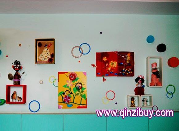 幼儿园墙面布置:照片墙2