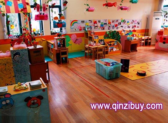 幼儿园区角布置:多功能活动室