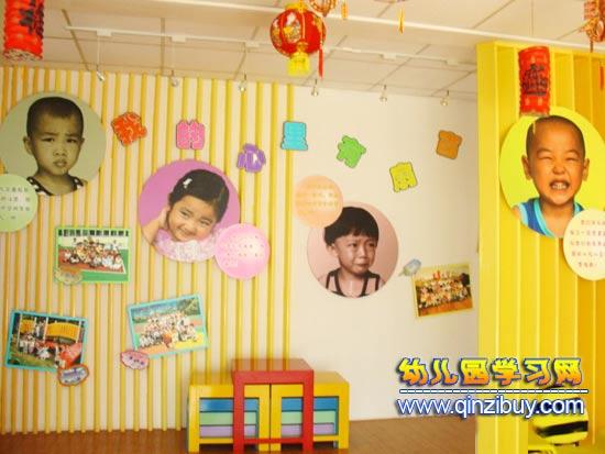 幼儿园环境布置 我的心中有扇窗图片