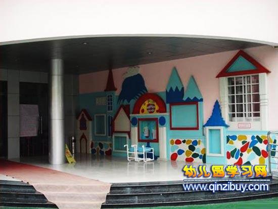 幼儿园校门布置1—幼儿园环境布置图片