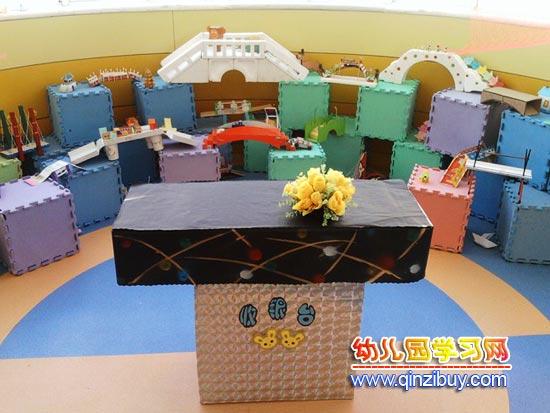 数学区域角_幼儿园区角布置:各种各样的桥—