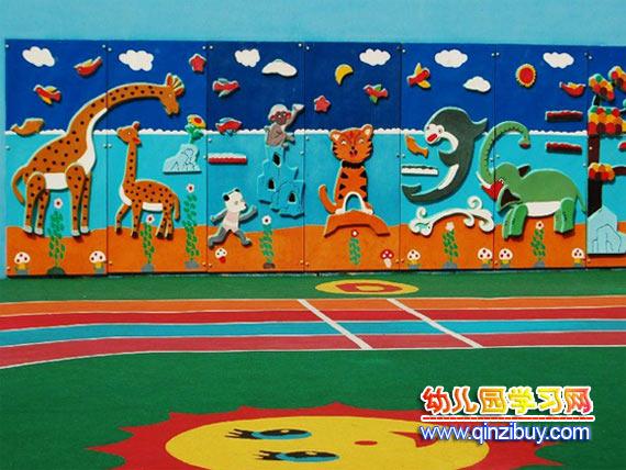 幼儿园动物主题墙—幼儿园环境布置图片