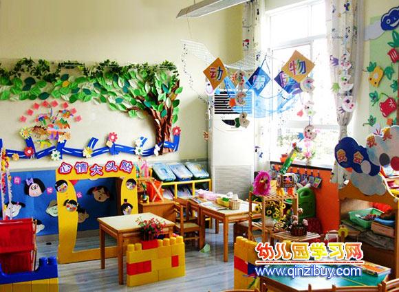 幼儿园区域环境布置:我会做—幼儿园环境布置图片