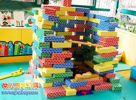 幼儿园区域环境:构建区2—幼儿园环境布置图片