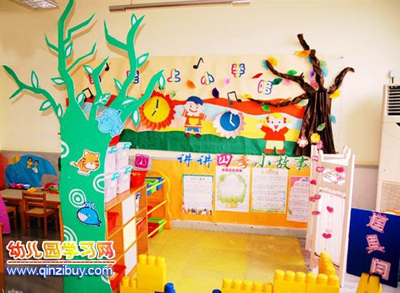 幼儿园区域环境:故事屋—幼儿园环境布置图片