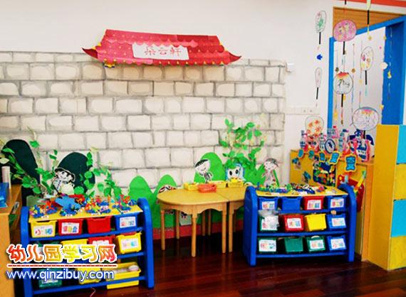 幼儿园区域环境:手工区