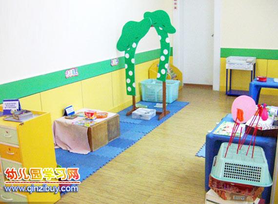 幼儿园区域环境:小商店—幼儿园环境布置图片