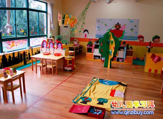 幼儿园教室布置:大班1—幼儿园环境布置图片
