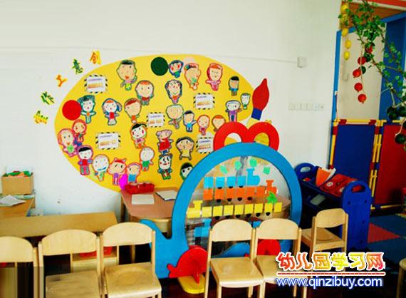 幼儿园教室布置:小班1—幼儿园环境布置图片