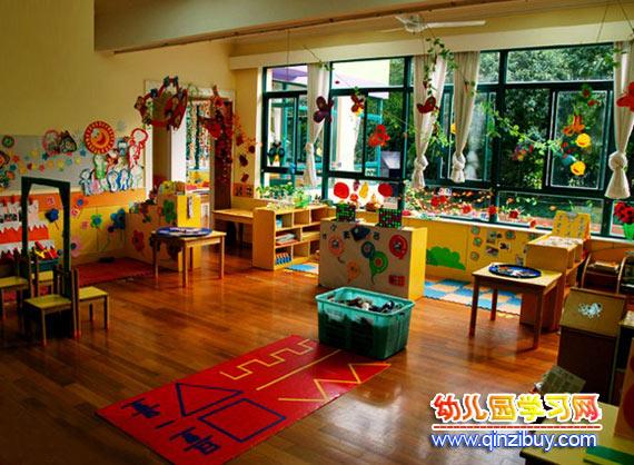 幼儿园区角环境布置:大班教室—幼儿园环境布置图片