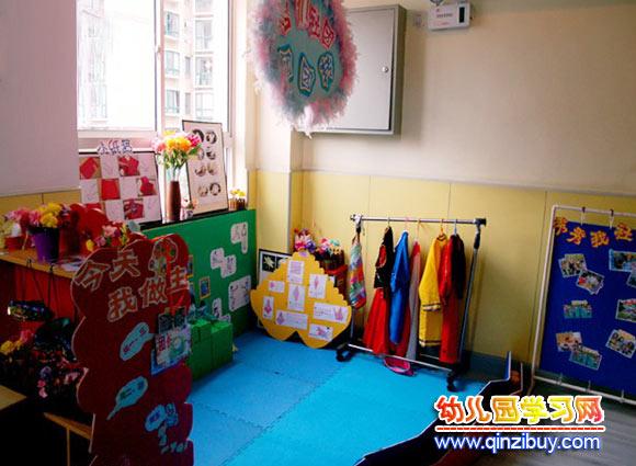 体育区角布置图片_区角环境布置:小社区—幼儿园环境布置图片