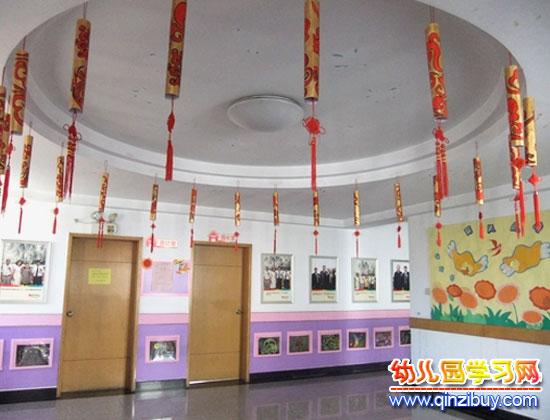 幼儿园吊饰布置:中国结10—幼儿园环境布置图片